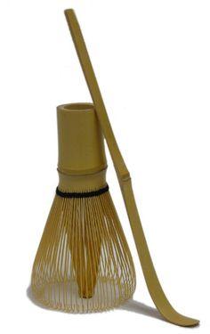 Bamboo Matcha Whisk (chasen) and bamboo spoon (chashaku) Matcha Whisk, Spoon, Bucket Bag, Bamboo, Tea, Bags, Decor, Handbags, Decoration