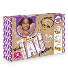 myStyle Tag Jewellery - DIY jewellery, everything you need in one box Jewelry Crafts, Jewellery Diy, Craft Kits, Inspirational Gifts, Jewelry Trends, Tags, My Style, How To Make, Box