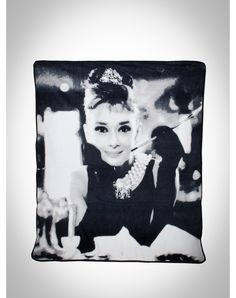 Audrey Breakfast at Tiffanys Fleece Blanket