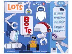 Lots of Bots WALL-E pixar book