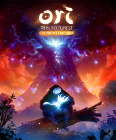 ArtStation - Ori and the Blind Forest: Definitive Edition - Cover Artwork, Airborn Studios