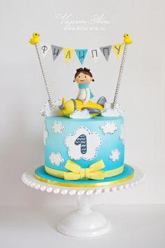 cake for a young pilot - Cake by Alina Vaganova