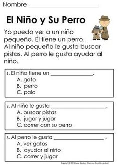 Spanish Reading