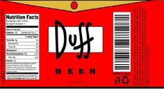 Resultado de imagen para logo cerveza duff