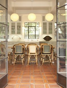 Effortlessly Chic:  French Rattan Bistro Chairs    The Kitchn