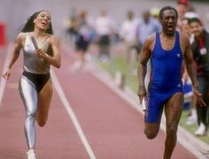 Unreal and Beautiful Flo-Jo (Florence Griffith Joyner Career Highlights). Flo Jo, Bill Cosby, Florence Griffith Joyner, Olympic Track And Field, Track Field, Black Girls, Black Women, Vintage Black Glamour, Muscular Women