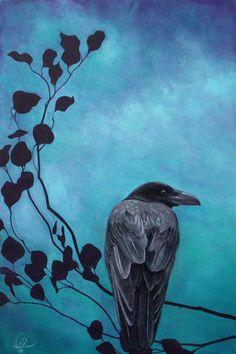 Crows Ravens:  #Raven, Amy Paul.