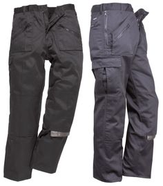 Portwest S887 Action Cargo Trousers Kneepad Pocket Work Trousers – Safety-Site