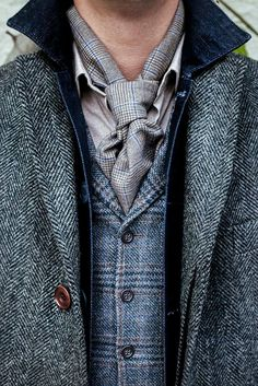 It's all in the details this season! Layer up your tweed with our herringbone with your denim and more! Who said layering was a chore?
