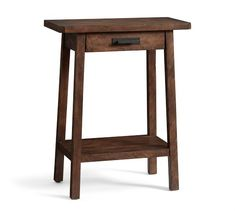 Browse Pottery Barn's collection of entryway furniture. Find entryway benches, hall trees, console tables and decor in classic styles and quality finishes. Entryway Console, Entryway Furniture, Entryway Tables, Sofa Tables, End Tables, Console Tables, Small Tables, Rustic Sideboard, Foyer Decorating
