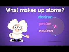 Let's take a look at the particles and forces inside an atom. This contains information about Protons, Electrons, and Neutrons, as well as the Electric force. University Life, Teaching Science, Chemistry, Homeschool, Atoms, Education, Learning, Youtube