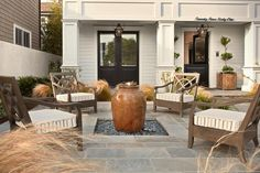 This time of year is beautiful in Southern California so why not take a moment to enjoy the day outside.   builder @pattersoncustomhomes photo @jkoegel