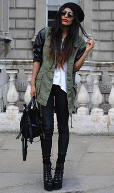 Oh-so cool yet casual.