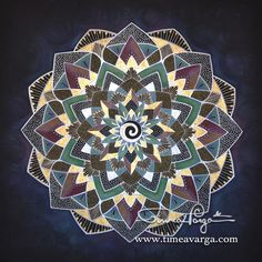 How to draw mandalas? | Timea Varga