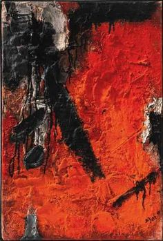 Bram Bogart - Des Briques  1959 Tactile Texture, Painter Artist, Paint Drying, Dark Shades, Calligraphy Art, Abstract Expressionism, Art For Sale, Background Images, Art History
