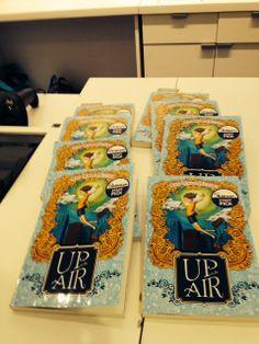 'Up In The Air' - STAFF PICK at Indigo Bookstore, Eaton Center, Toronto!! Giveaways, Toronto, Indigo, Promotion, Product Launch, Indigo Dye