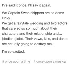 Seriously, we are luckiest and proudest shippers ❤️ I love them so much #CaptainSwan #Colifer