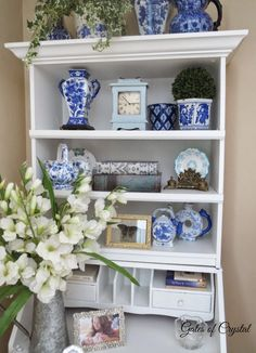 Gates of Crystal: Decorating with Blue and White