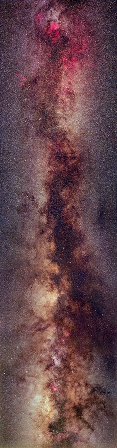 Most bright stars in our Milky Way Galaxy reside in a disk. Since our Sun also resides in this disk, these stars appear to us as a diffuse band that circles the sky.