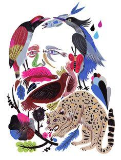 Alfred Brehm by Carolin Loebbert - own in 8x10