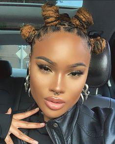 Bantu Knot Hairstyles, Dreadlock Hairstyles, Protective Hairstyles, Wedding Hairstyles, Natural Hair Tips, Natural Hair Styles, Beautiful Dreadlocks, Pretty Dreads, Dreadlock Styles