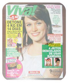 Capa da Revista Viva! Mais - edição 732. Com Dolly Bow da Cookie Plushie na matéria sobre bandanas.