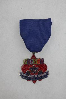 Boy Scouts of America Alamo Area Council's 2015 Fiesta Medal, $10 at the Fiesta Store Photo: JUANITO M GARZA, By Juanito Garza, San Antonio Express-News / San Antonio Express-News