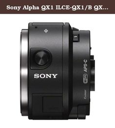 Sony Alpha QX1 ILCE-QX1/B QX1/B Smartphone Attachable Interchangeable Lens Style Camera + Sony 55-210mm F4.5-6.3 Lens + Sony 32GB C10 microSDHC + Wasabi NP-FW50 Battery w/ Charger + Accessory Bundle. ○ Turn your smartphone into a mirrorless APS-C sensor camera ○ Manual Control, Flash and Interchangeble Lenses for photographic freedom ○ NFC/Wi-Fi® allows simple, one-touch linking to smartphones ○ Use apps to edit and share photos instantly online ○ Shoot and enjoy images thru the…