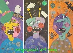 Halloween Classroom Art Projects - Teaching in the Early Years