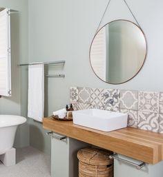 Misty Forest Studio has been inspired by nature; Misty Forest, Mirror Bathroom, Mirror Tiles, Bathroom Flooring, Interior Design, Bathrooms, Studios, Interiors, Furniture