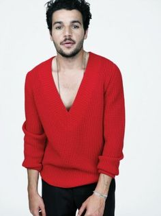 Christopher Abbot lookin' FINE in that Red Sweater! Gorgeous Men, Beautiful People, Christopher Abbott, Big Brown Eyes, Somebody To Love, Celebrity Gallery, Dream Guy, Cute Faces, Good Looking Men