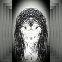 My scary original oc  by sofiavalvi