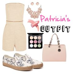 """""""Patricia's Outfit"""" by betty-bossy ❤ liked on Polyvore featuring Vans, Tamara Mellon, MICHAEL Michael Kors, Elizabeth Arden and MAC Cosmetics"""