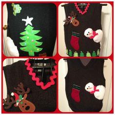 DIY Ugly Christmas Sweater.