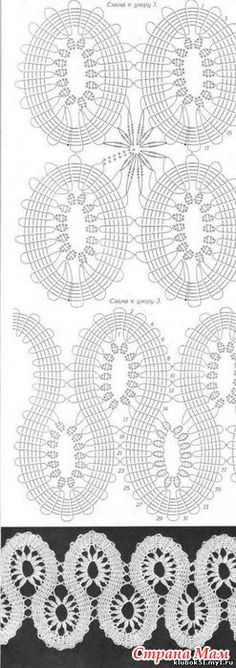 Learn How To Crochet Bruges Lace - Best Knitting Crochet Motifs, Crochet Pillow, Crochet Diagram, Freeform Crochet, Crochet Chart, Knit Or Crochet, Irish Crochet, Crochet Stitches, Russian Crochet