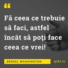 Denzel Washington, Morals, Motivation, Morality, Inspiration