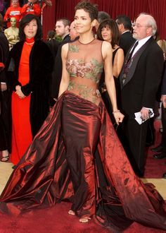 15 years of the best actress Red Carpet Oscar gowns