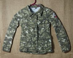 Girls Carhartt Camo Jacket Size XS - 7 #Carhartt #BasicJacket #Everyday