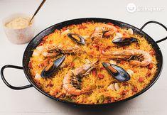 Fideuá perfecta. Receta fácil siguiendo nuestros consejos - Recetas de rechupete - Recetas de cocina caseras y fáciles Paella, Seafood Recipes, The Creator, Ethnic Recipes, Puerto Rico, Popular, Youtube, Pasta, Easy Recipes