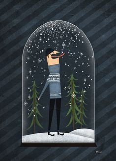Fuidelfui Illustration Marie-Eve Tremblay: Hiver / Winter