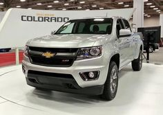 2015 Chevrolet Colorado Silver