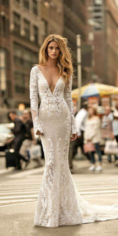 Amazing Berta Bridal Collection 2017 :heart: See more: http://www.weddingforward.com/berta-bridal-collection/ #wedding #dresses #2017