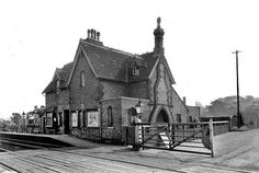 Disused Stations: Lidlington Station Disused Stations, Old Train Station, Great British, Steam Locomotive, Plans, Gates, Transportation, Arch, English