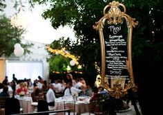 15 Ways to Include Mirror in your Wedding Decor