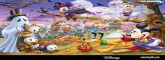 Disney Halloween Facebook Cover