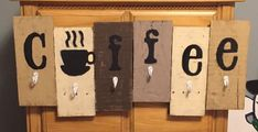 Coffee Mug Holder/Sign