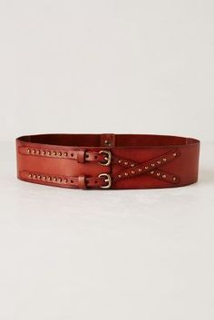 Crisscross Buckle Belt