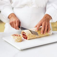 How To Roll A Jelly-Roll Cake | CookingLight.com