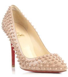Classic Pigalle 100Mm Spike Pumps by Christian Louboutin Oh, myyy! I thought these were pearls at first. #Matchesfashion
