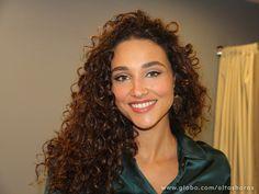 Deborah Nascimento  curly hair